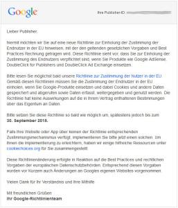 Mail von Google