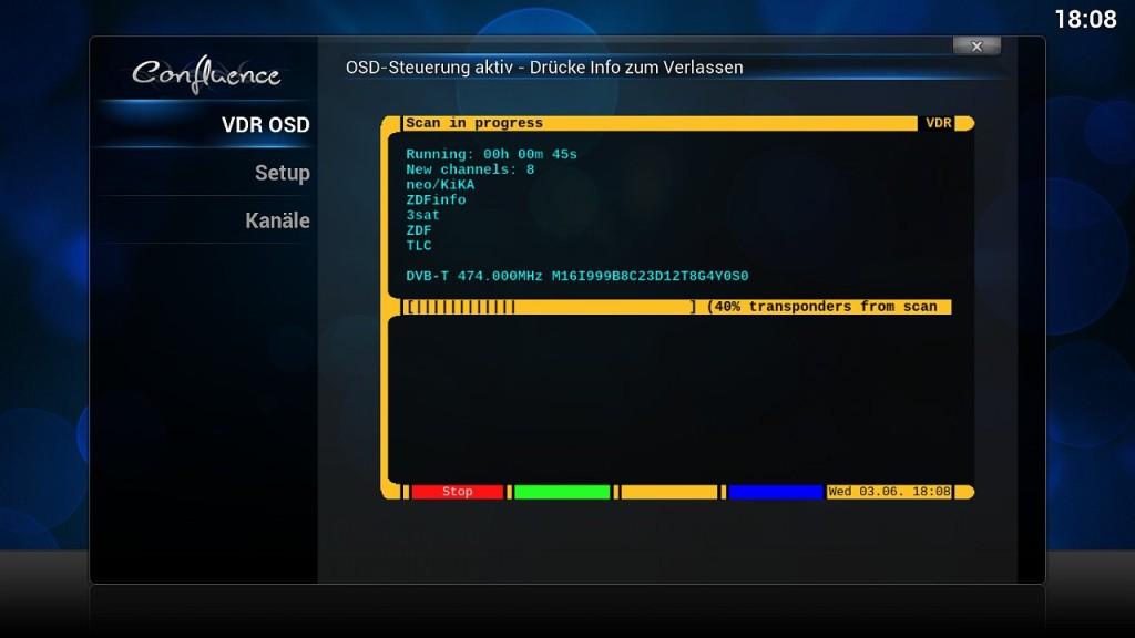 OpenELEC VDR Inst 11