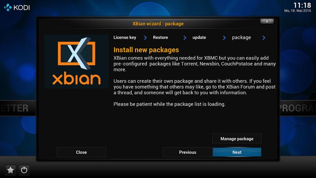 XBian Konfiguration 6