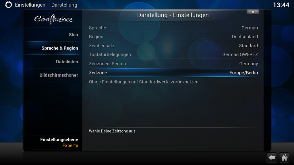 XBian Konfiguration 9
