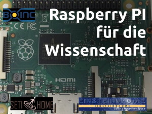 Raspberry Pi für die Wissenschaft