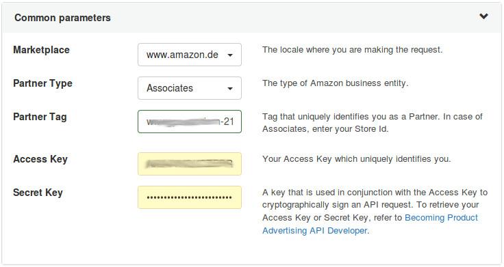 Amazon Scratchpad 5.0