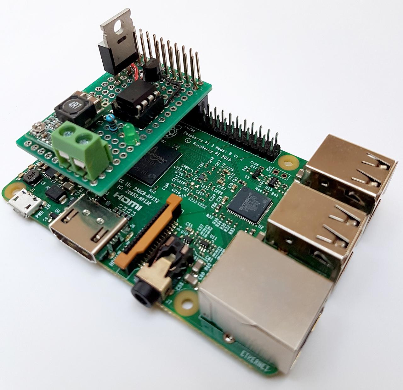 Herzschrittmacher am Raspberry Pi