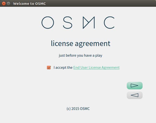 OSMC Installation 7