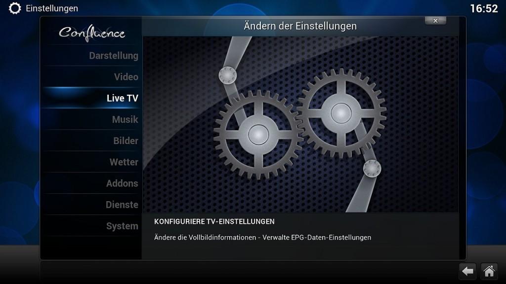 OpenELEC VDR Inst 7