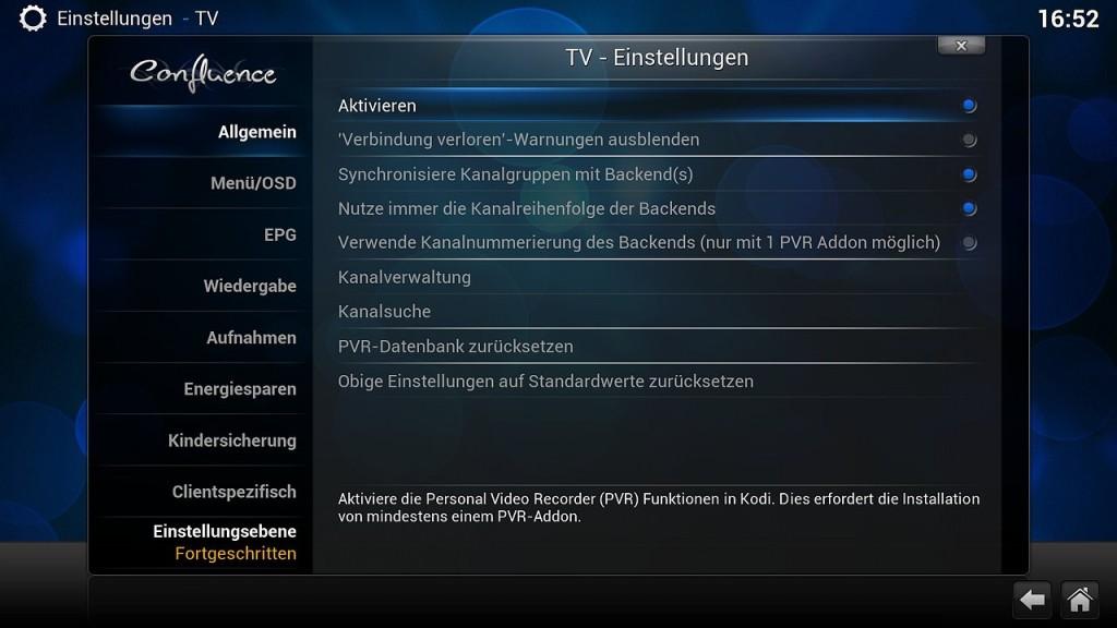 OpenELEC VDR Inst 8