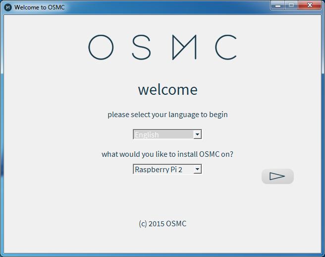 OSMC Installation 1
